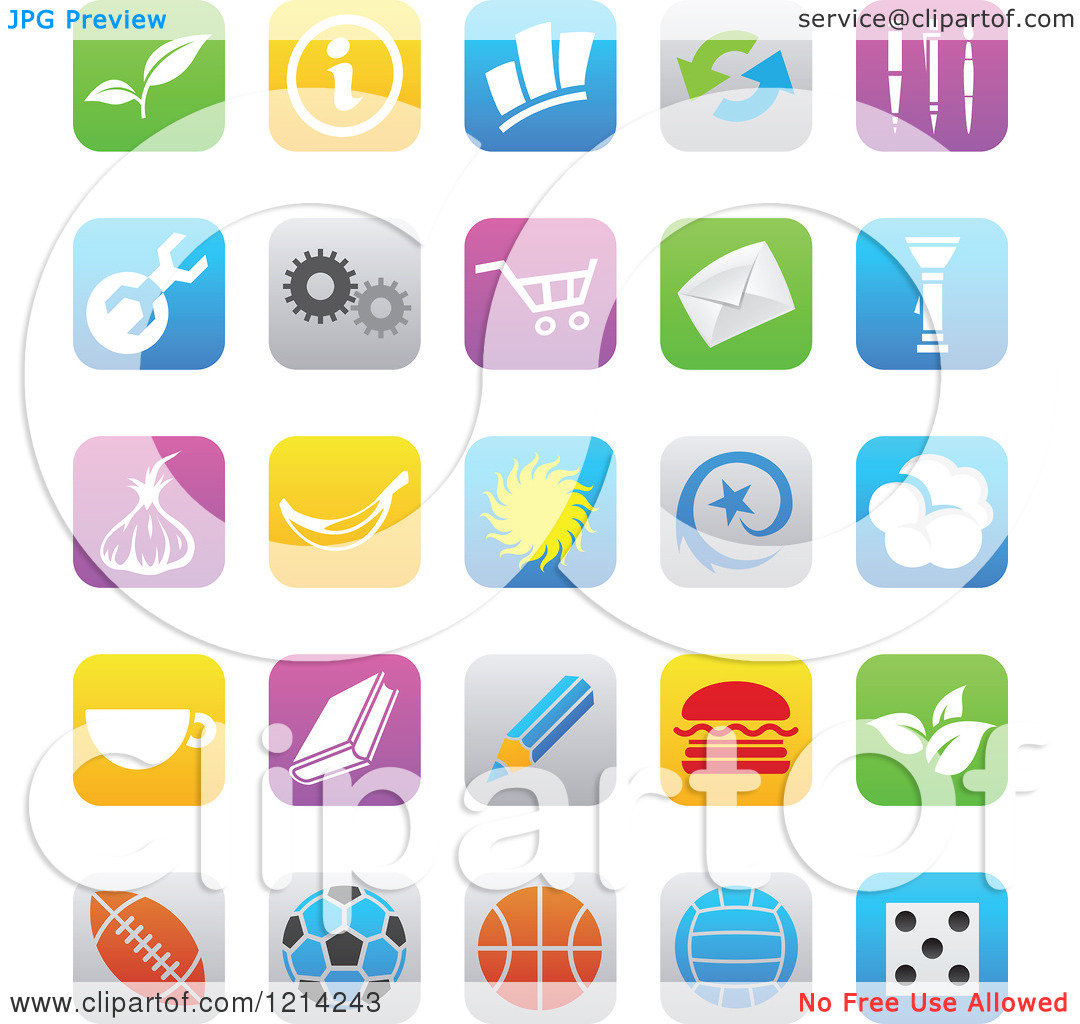 Clipart of ios 7.