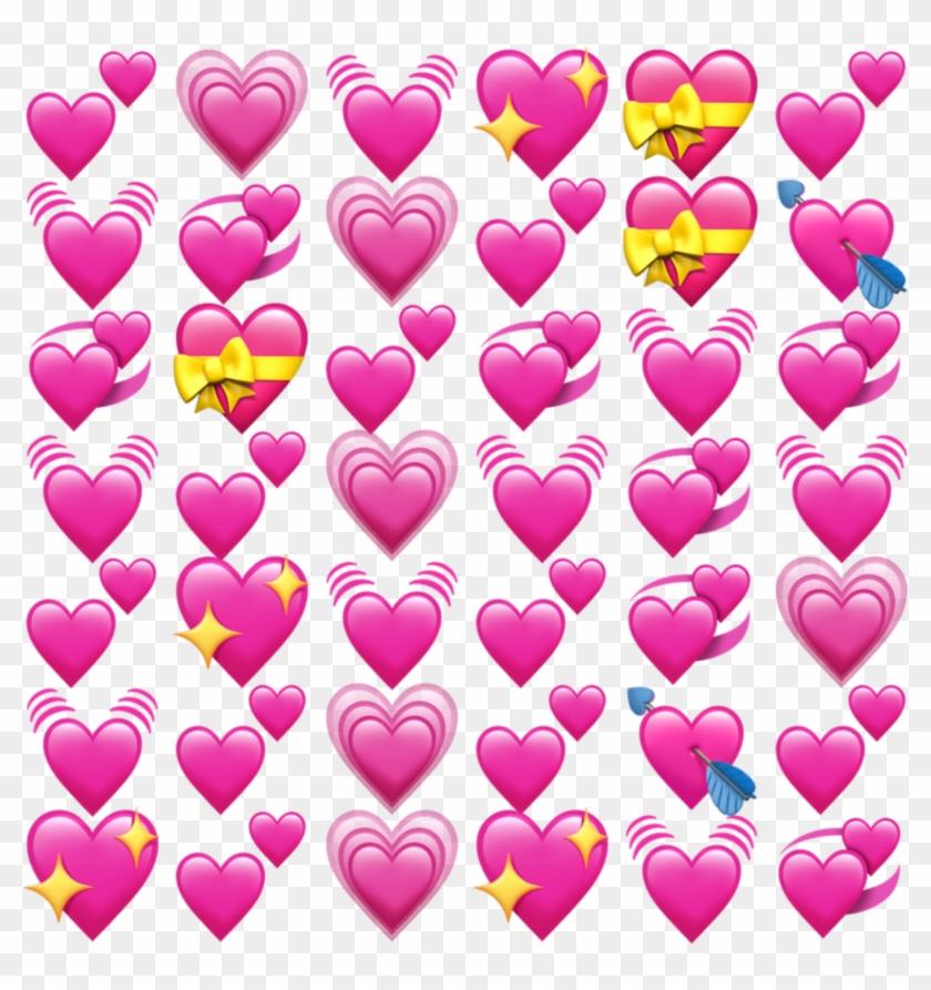 Freetoedit Edit Emoji Apple Ios Iphone Heart Spre Png.