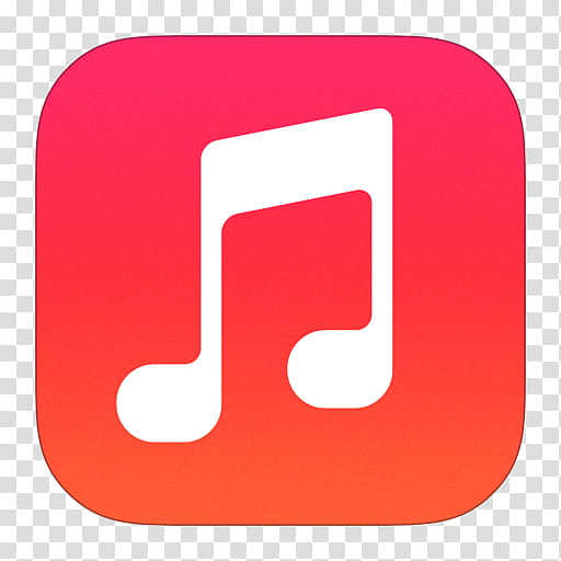 IOS Icons Updated , Music, music icon transparent background.