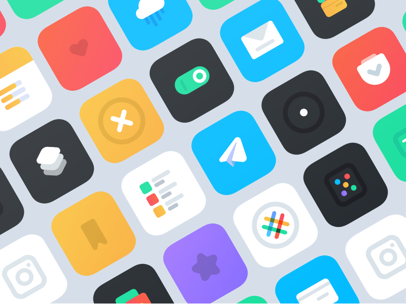 icon pack for iOS 10.