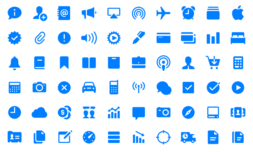 Apple Introduces The New iOS 11 Icon Pack.