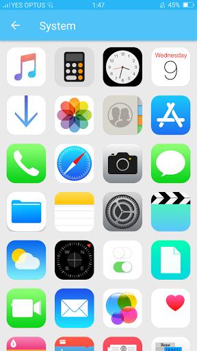 IOS11 Icon Pack Latest version apk.