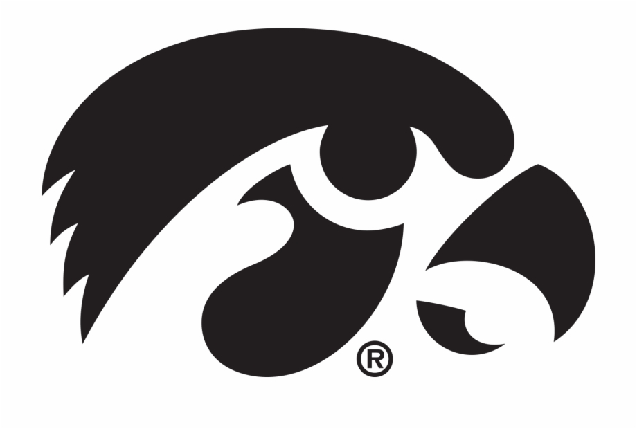 Iowa Hawkeyes Tiger Hawk Free PNG Images & Clipart Download #153504.