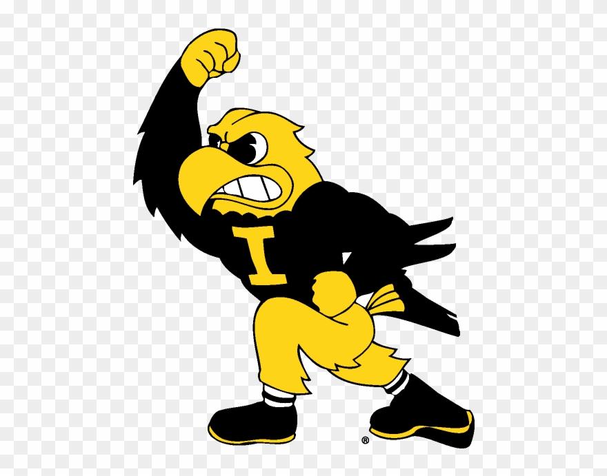 Download Iowa Hawkeyes Mascot Clipart Iowa Hawkeyes.