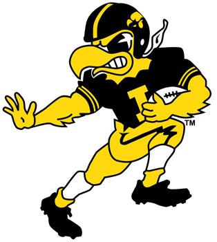 University of Iowa Mascot.