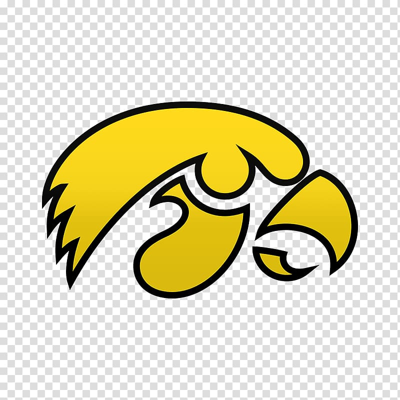 University of Iowa Iowa Hawkeyes football Herky the Hawk.