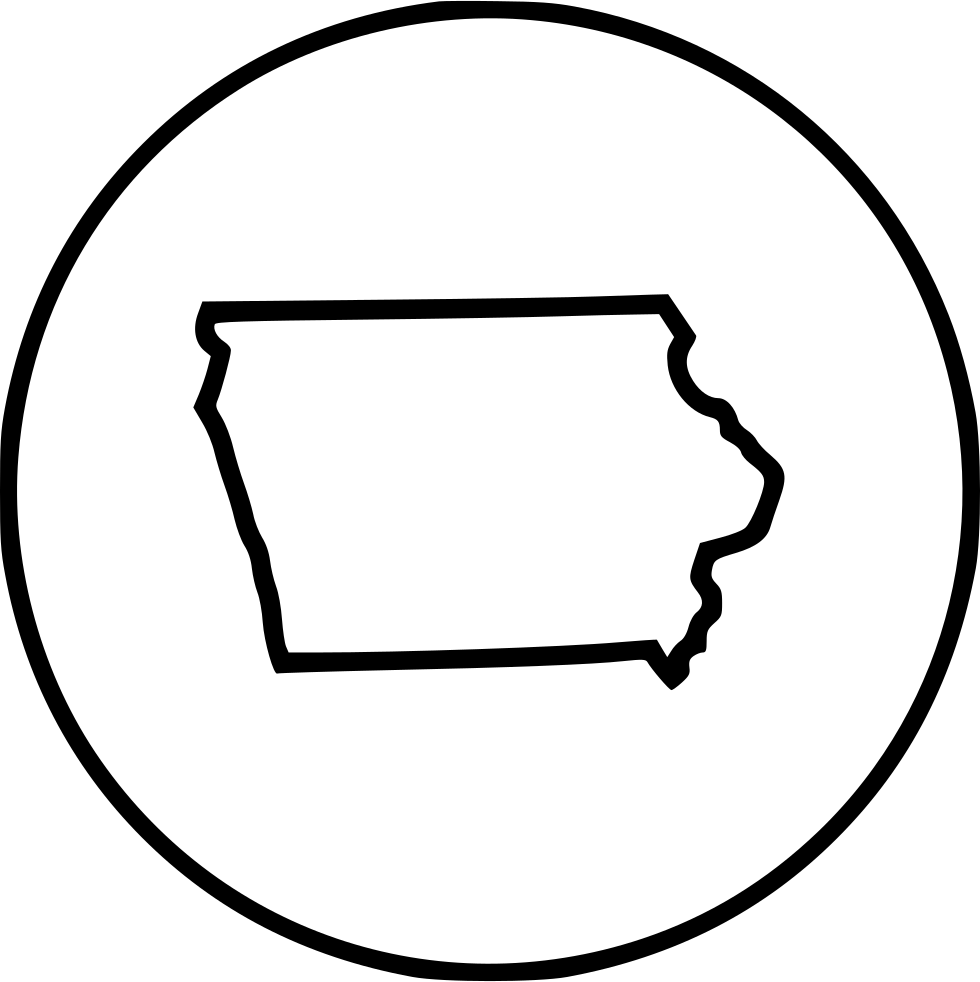 Iowa Svg Png Icon Free Download (#467295).