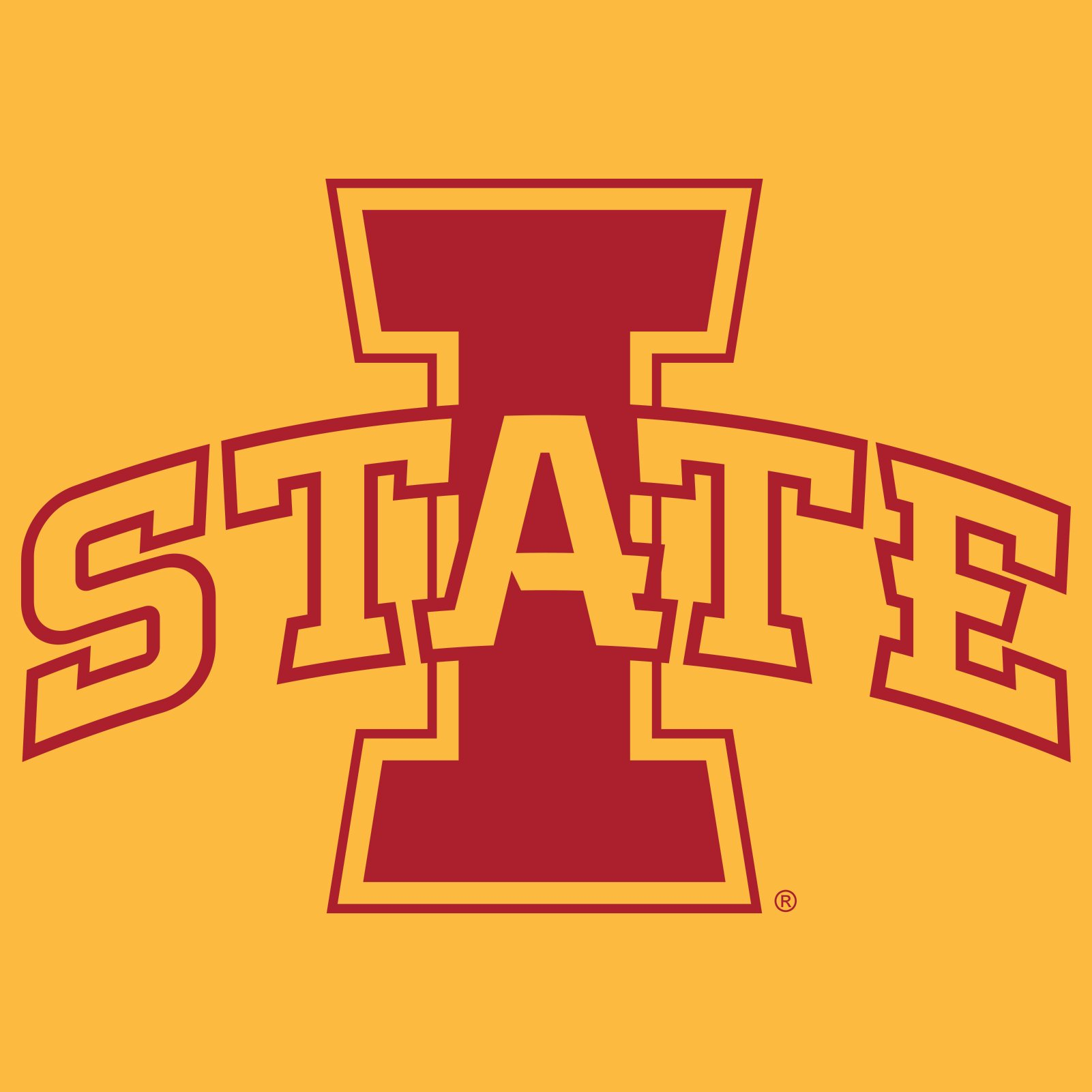 Iowa State University Cyclones Logo T Shirt.