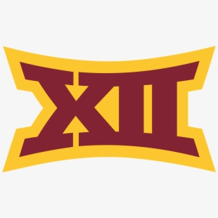 Big 12 Logo In Iowa State Colors.