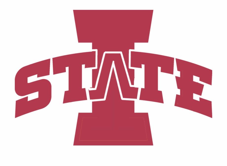 Iowa State Stencil Logo.