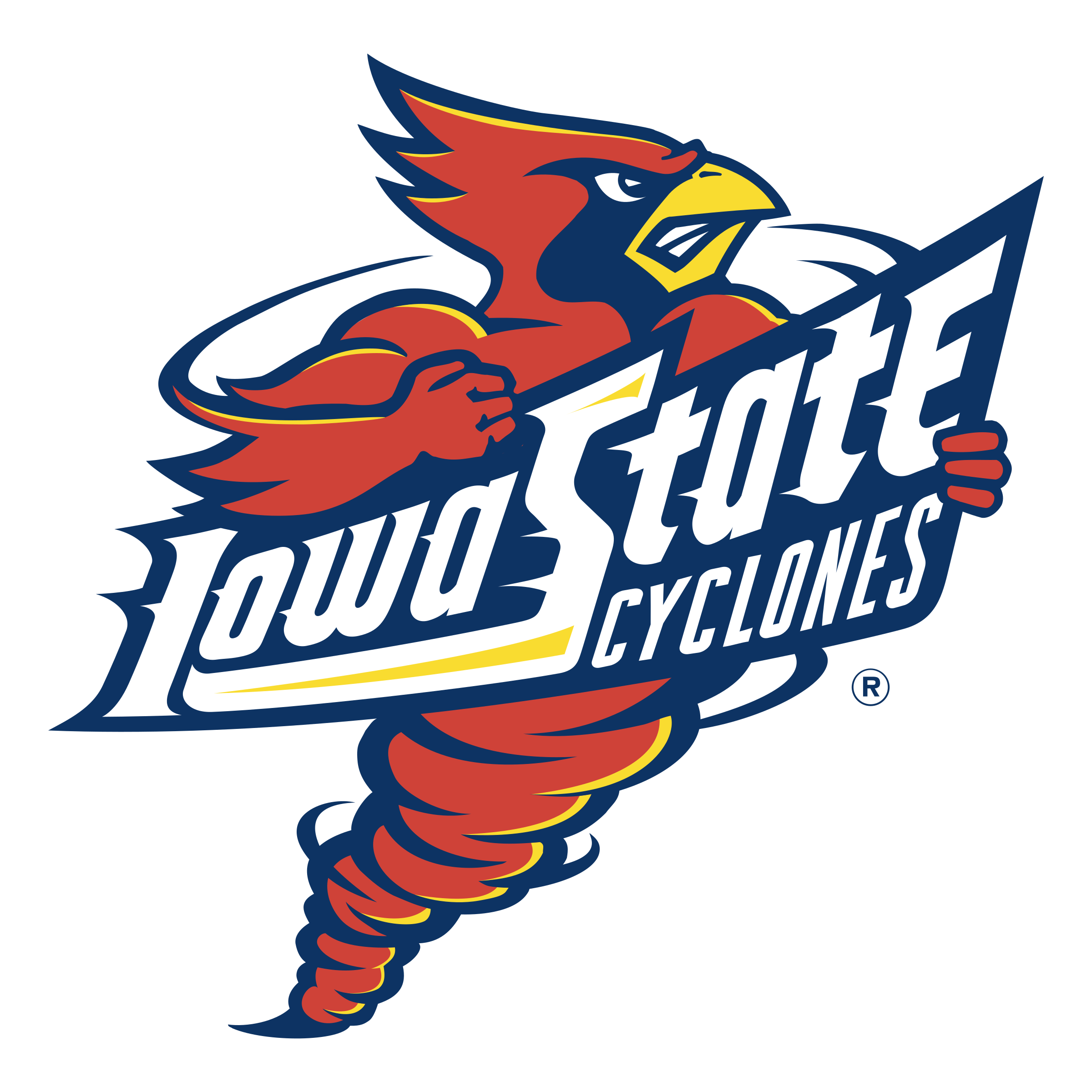 Iowa State Cyclones Logo PNG Transparent & SVG Vector.