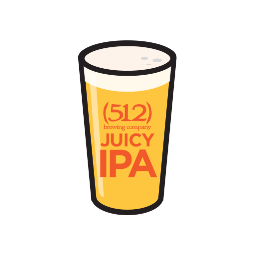 512) Juicy IPA.