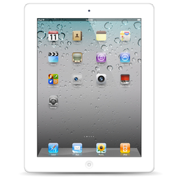 iPad 2 White Icon.