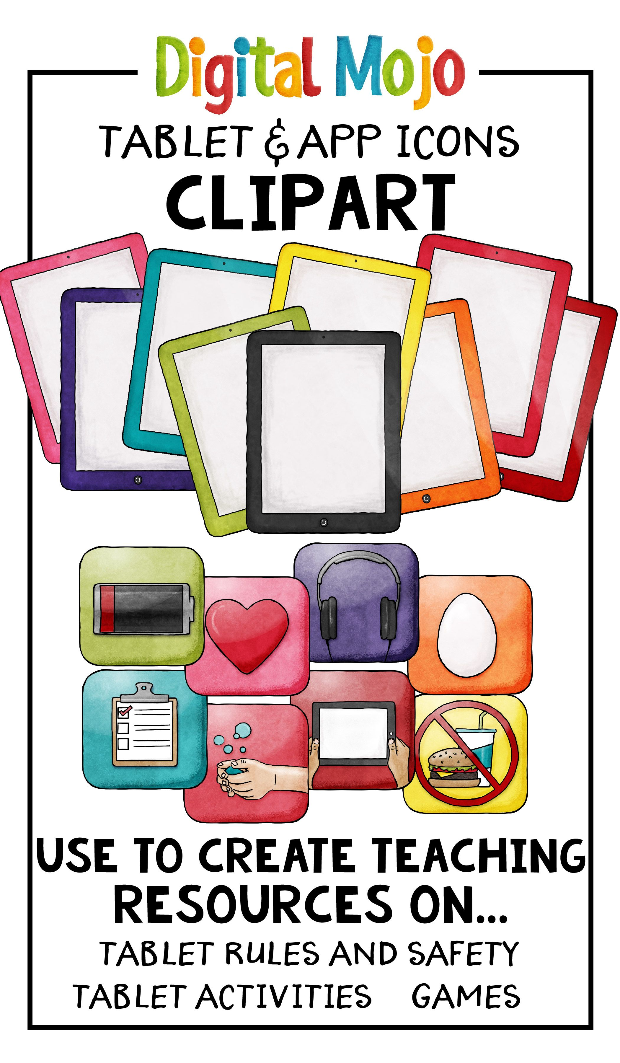 Tablet Clipart.