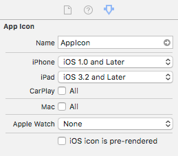 Technical Q&A QA1686: App Icons on iPhone, iPad and Apple Watch.