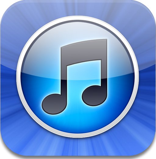 iTunes 10 app icon for iPad.