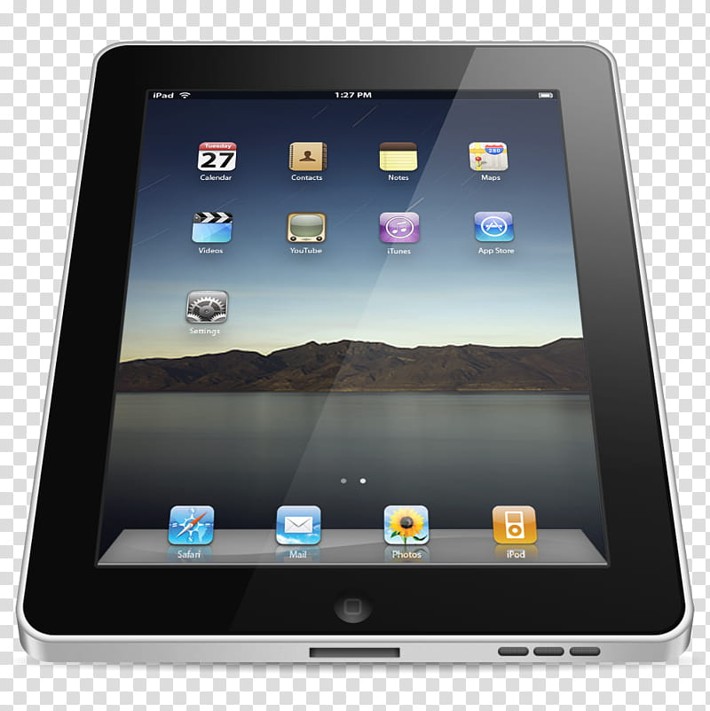 IPad, black iPad illustration transparent background PNG clipart.