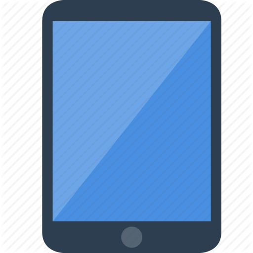 Tablet ipad icon png #6789.