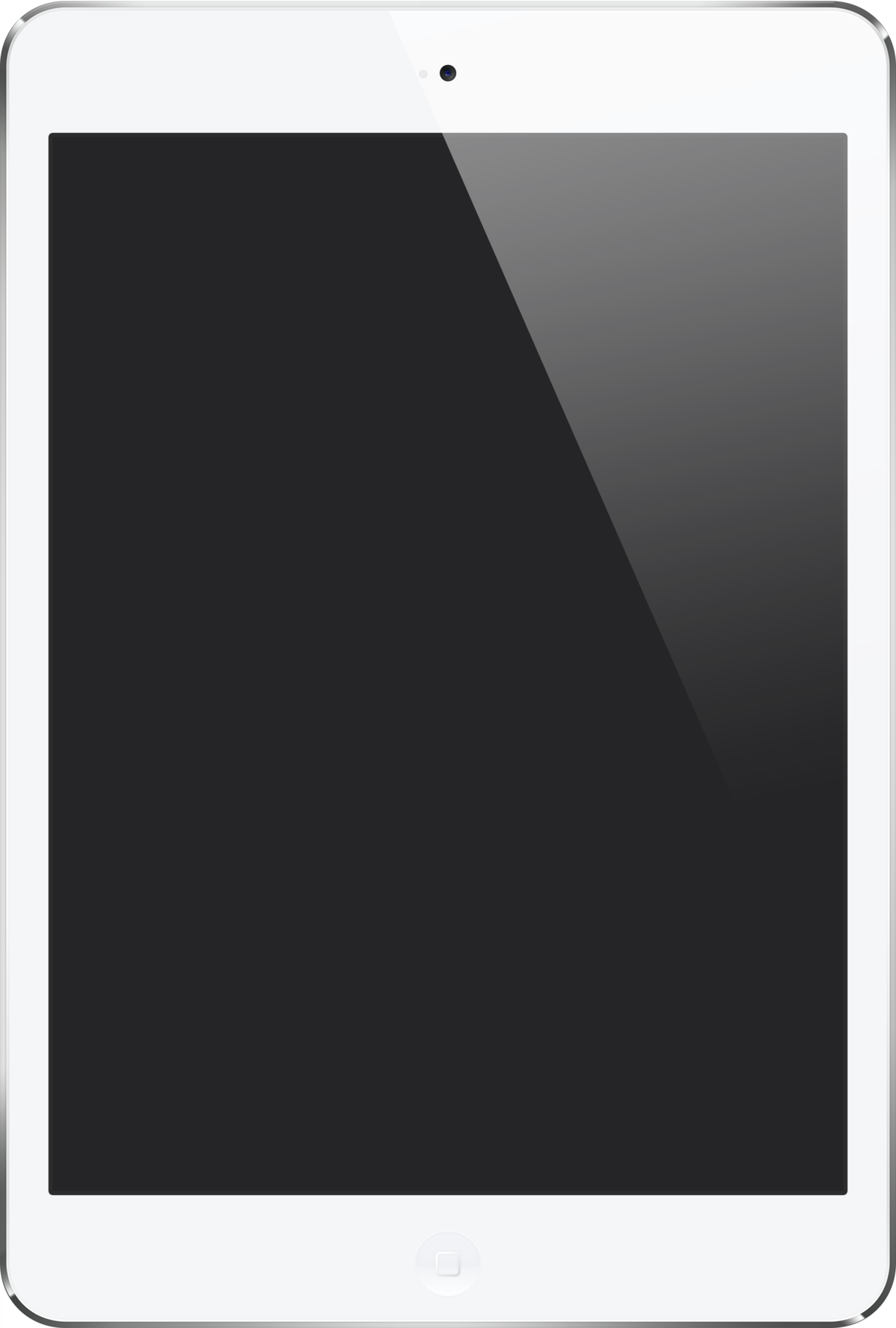 White Ipad Png (+).