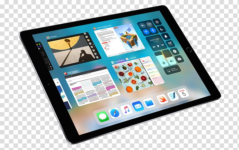 Black iPad illustration, Apple, 10.5.