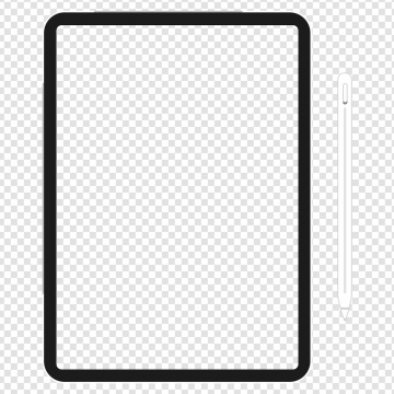 Ipad pro frame download free clip art with a transparent.