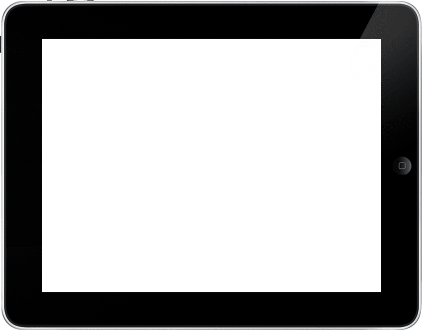 HD Ipad Clipart Png Landscape.