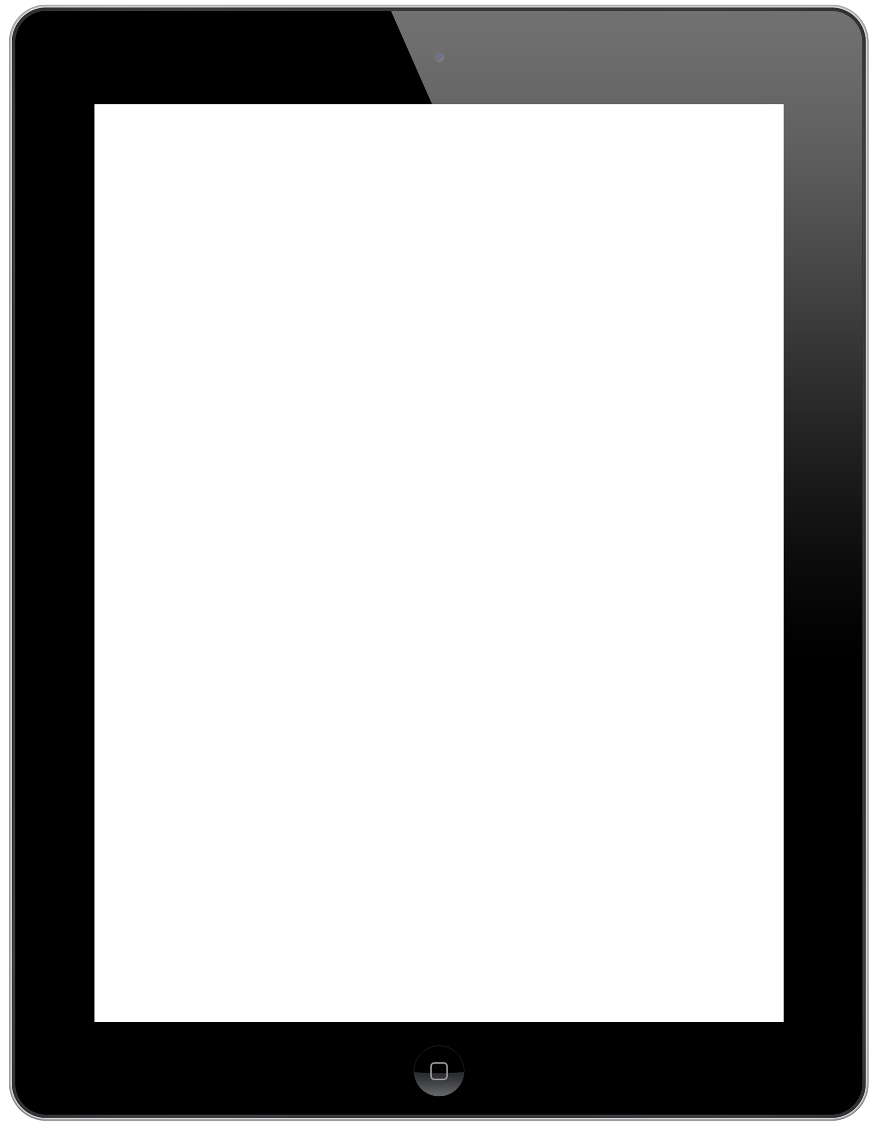 Ipad Tablet PNG Image.