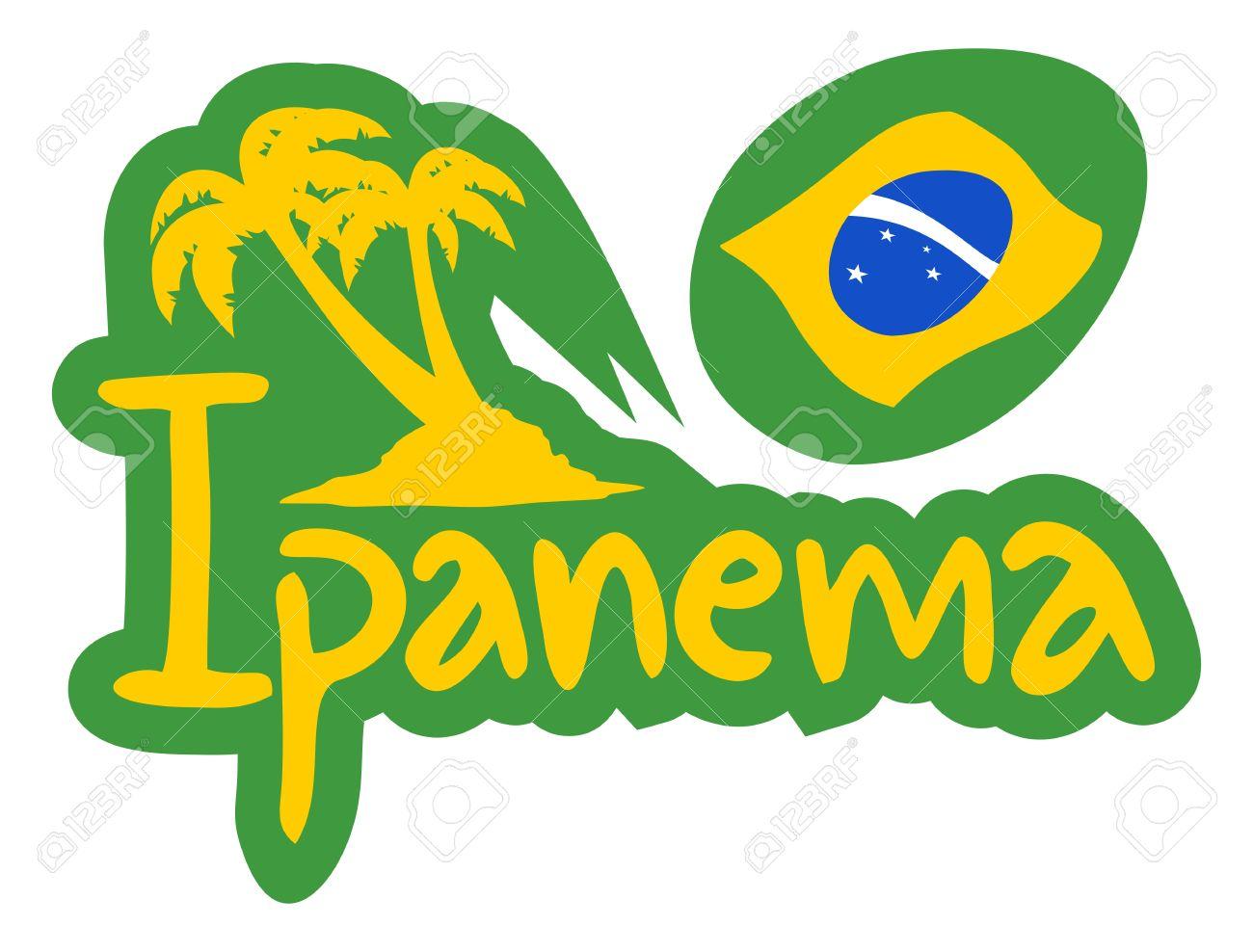Ipanema Beach Royalty Free Cliparts, Vectors, And Stock.