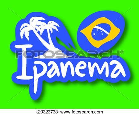 Clip Art of Ipanema palm k20323738.