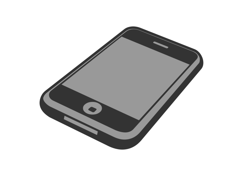 Free Clipart: IPhone 3gs.