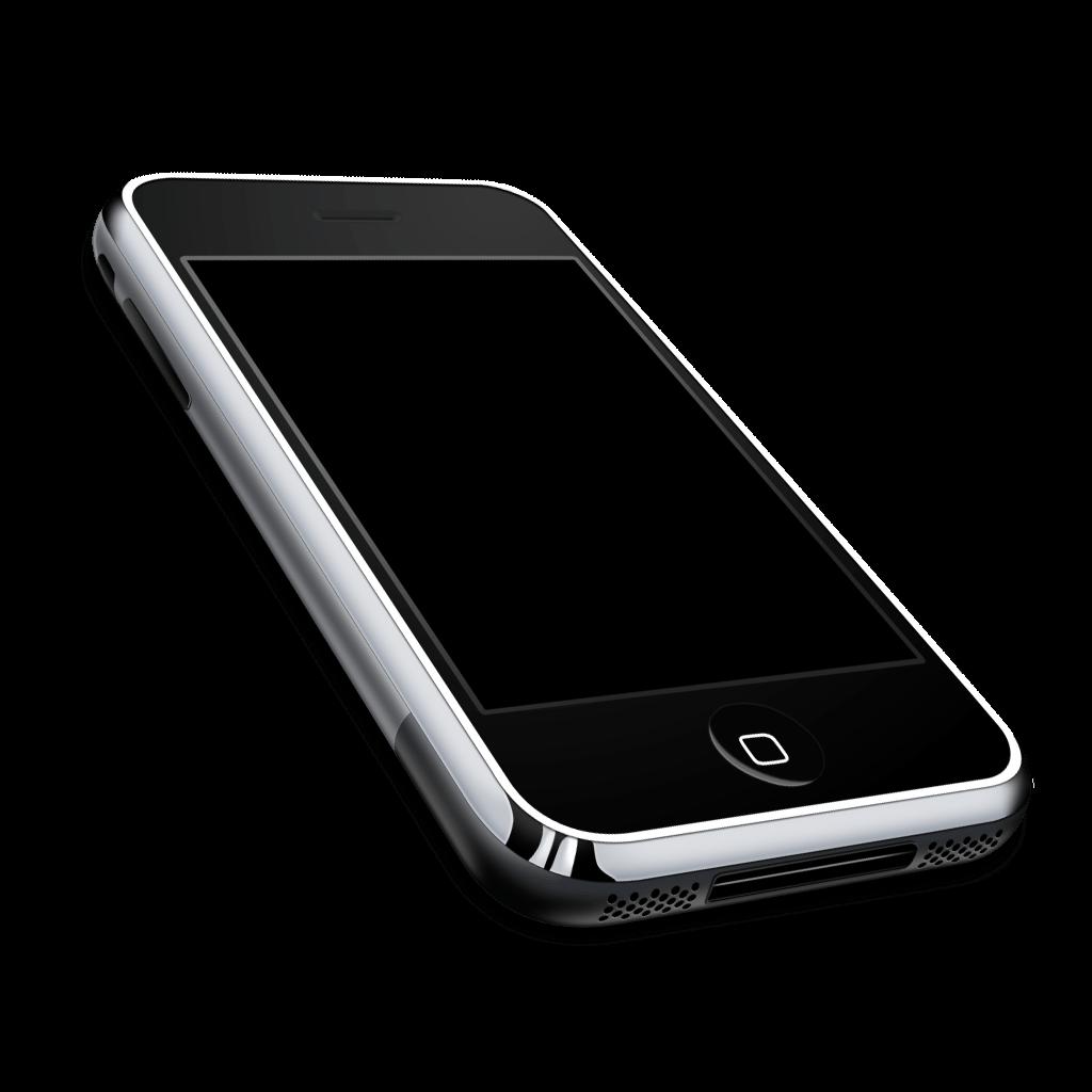 Iphone 3gs transparent PNG.