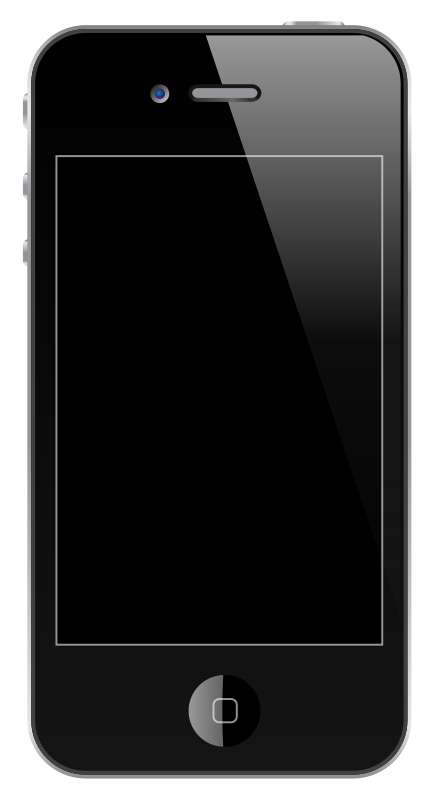 Free Clipart: IPhone 4/4S.
