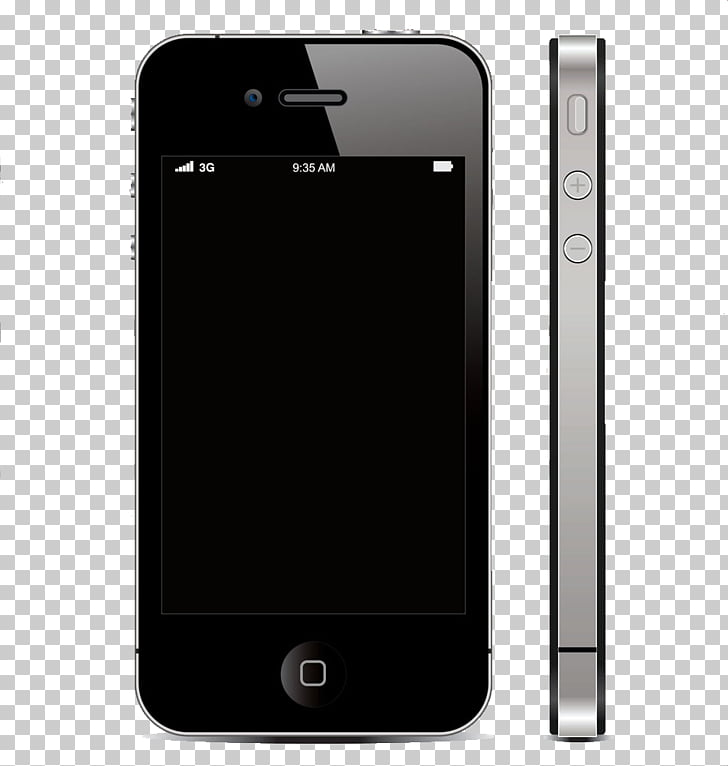 IPhone 4S iPhone 3GS iPhone 5 , Black Apple phone PNG.