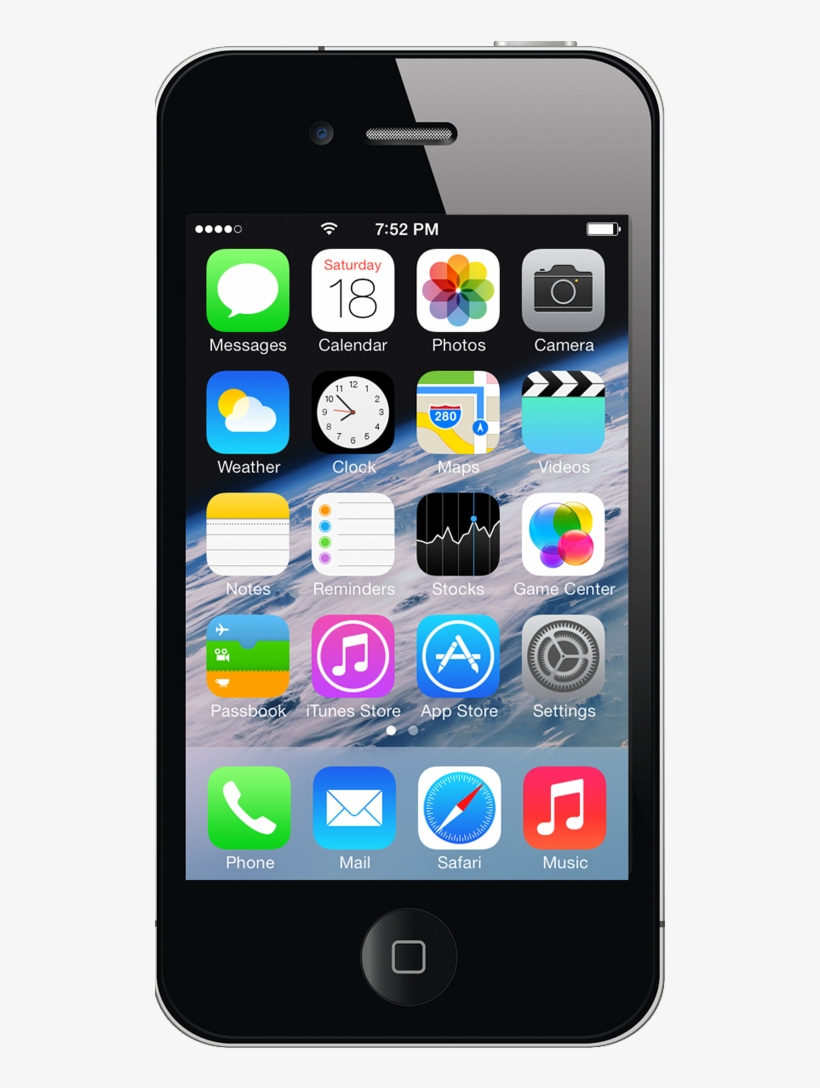 Apple Iphone 4s Black.