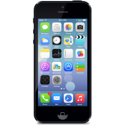 Download Free png IPhone 5 Phone Icon, PNG ClipArt Image.