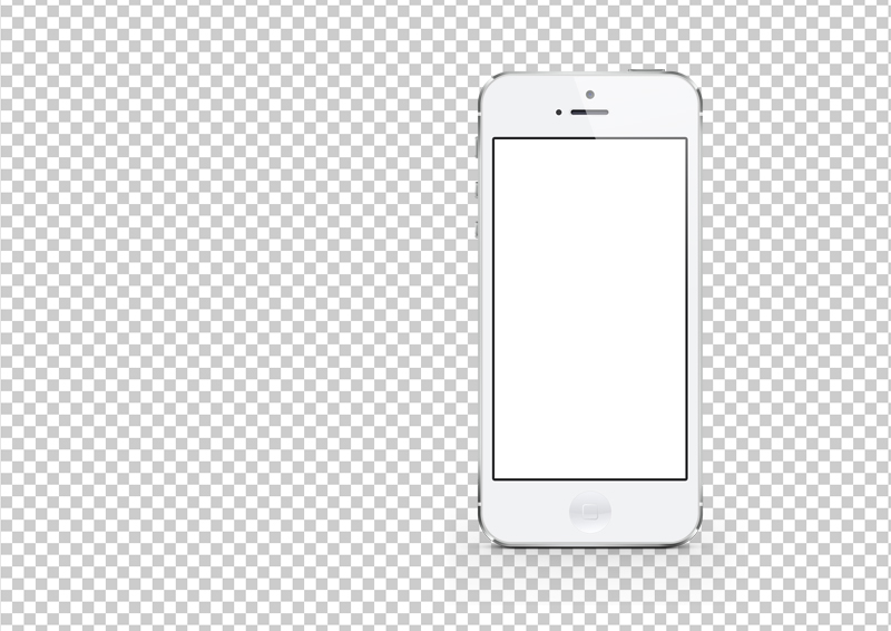 12 IPhone 5 PSD Template Images.