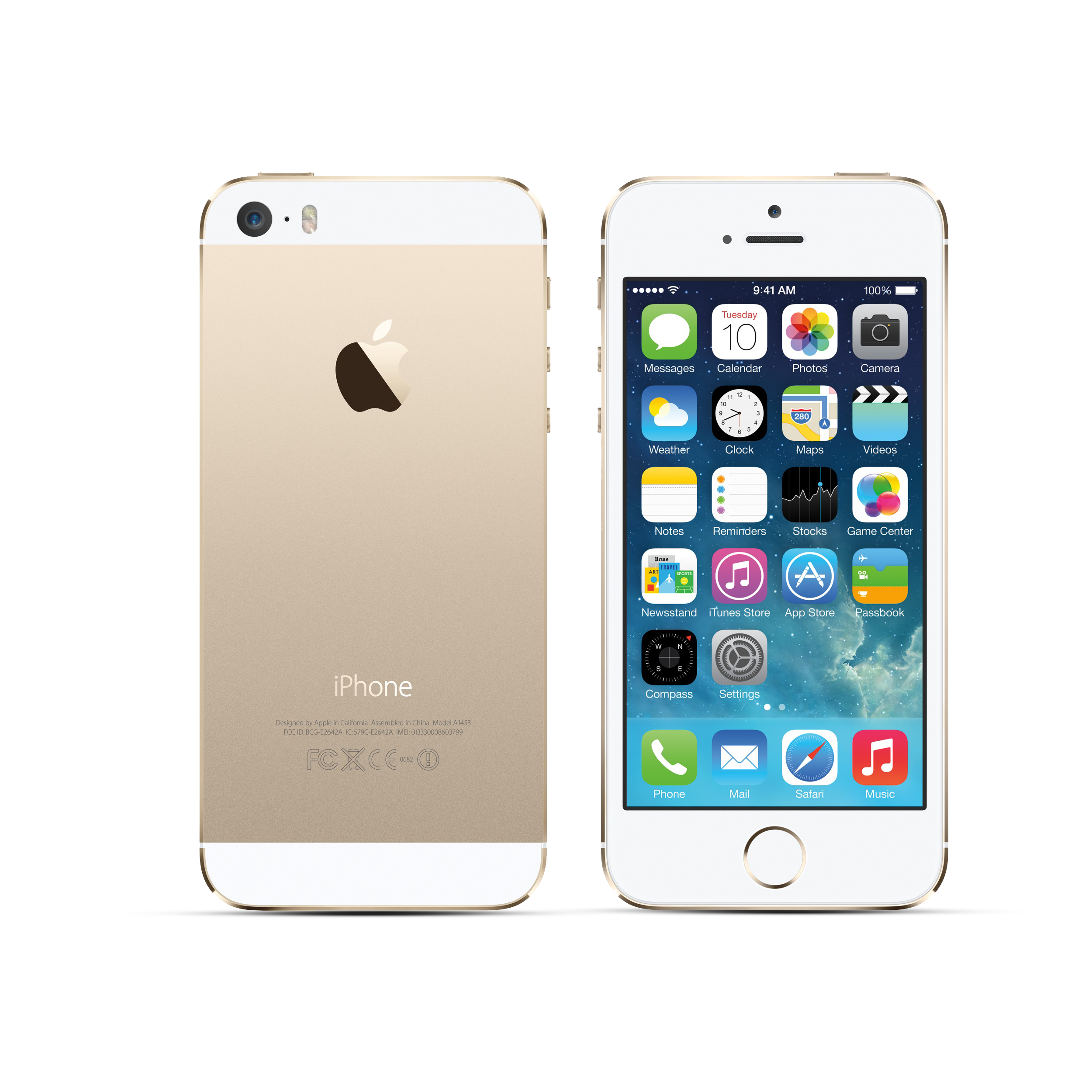 Fully Refurbished iPhone 5s.
