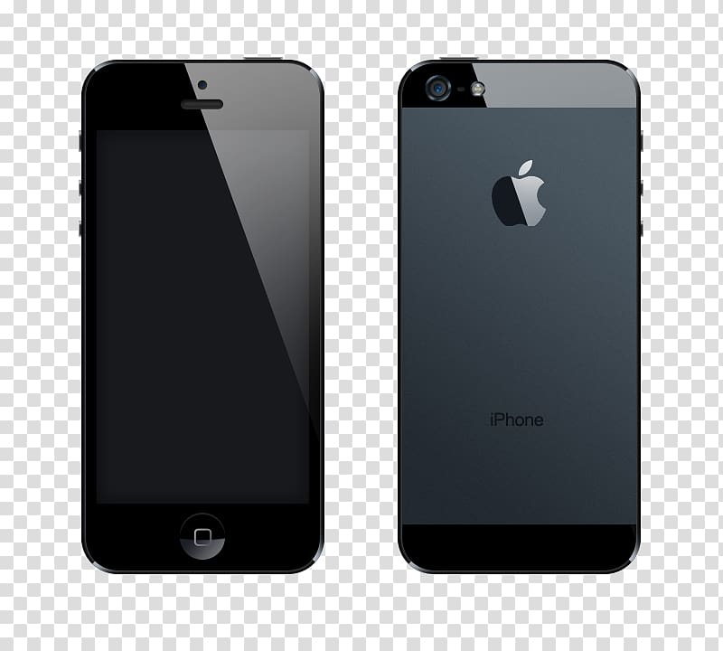 IPhone 5s iPhone 6 Mockup, Apple 5s transparent background PNG.