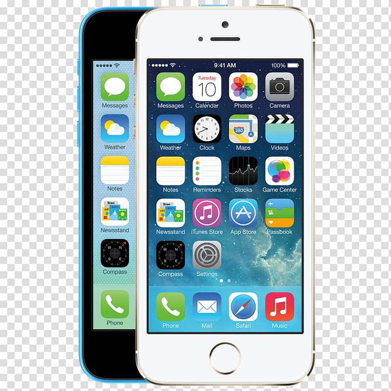 Silver iPhone 5s, Feature phone iPhone Mobile Phone.