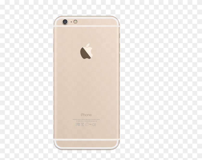 Iphone 6 Plus Gold Back.