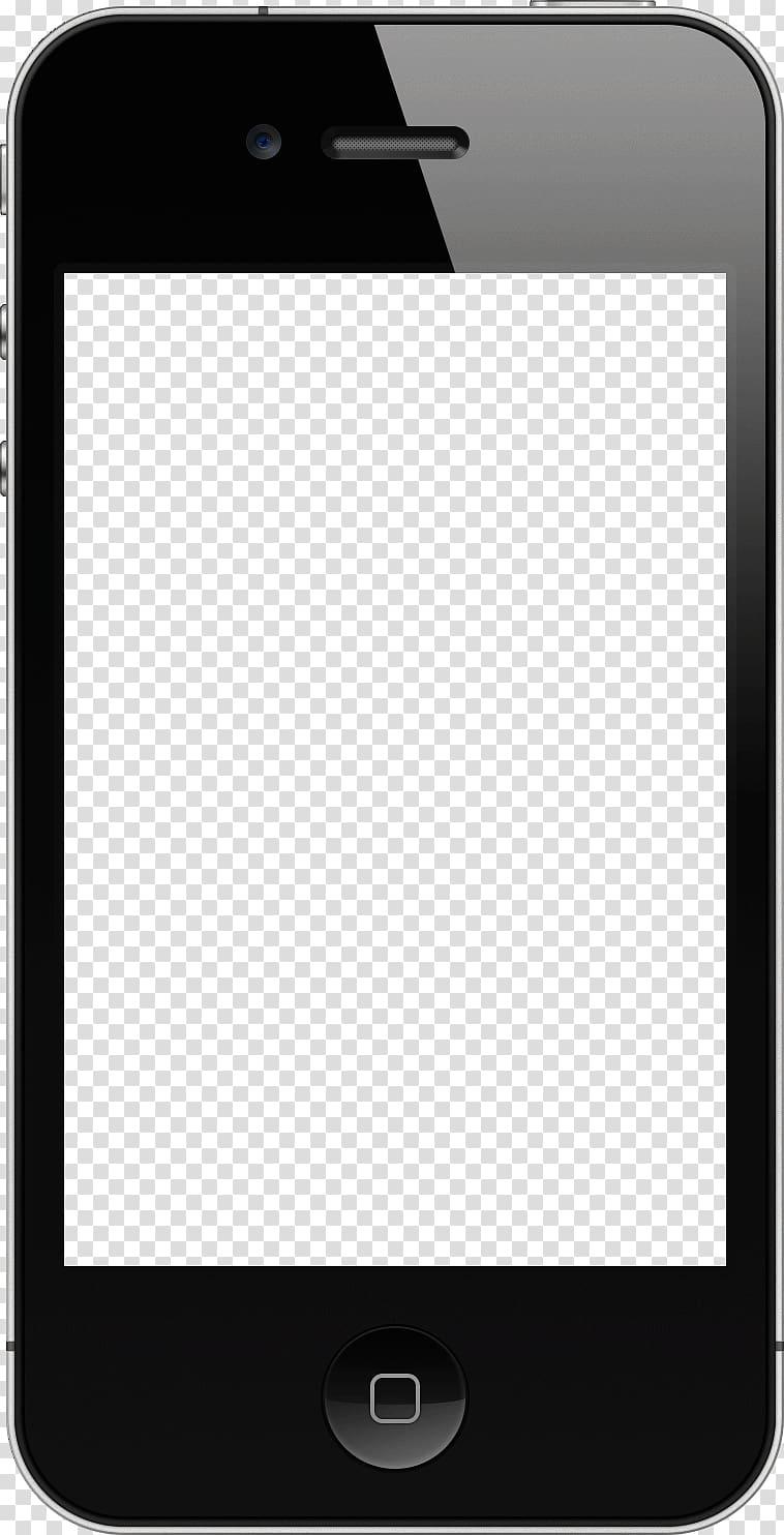 IPhone 5 iPhone 6 Template, text frame transparent.