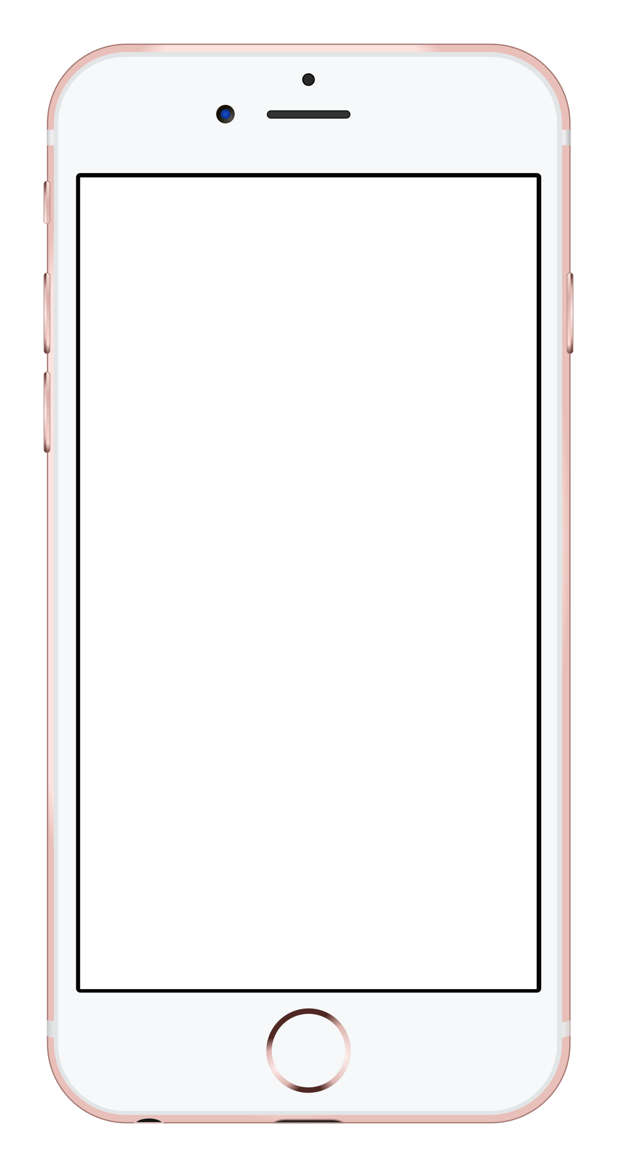 Iphone 6 Cell Phone Clipart.