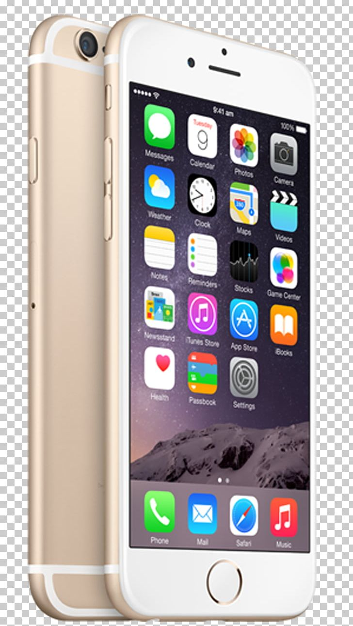 IPhone 6 Plus Apple Telephone Gold PNG, Clipart, Apple.