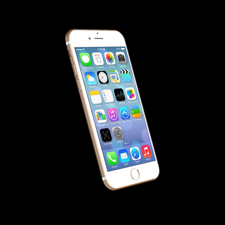 Apple iPhone 6 Gold.