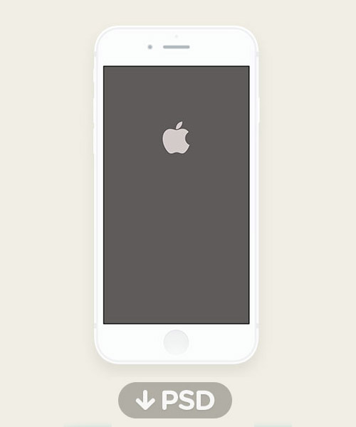 Free iPhone 6 and iPhone 6 Plus Mockups (PSD, AI & Sketch.