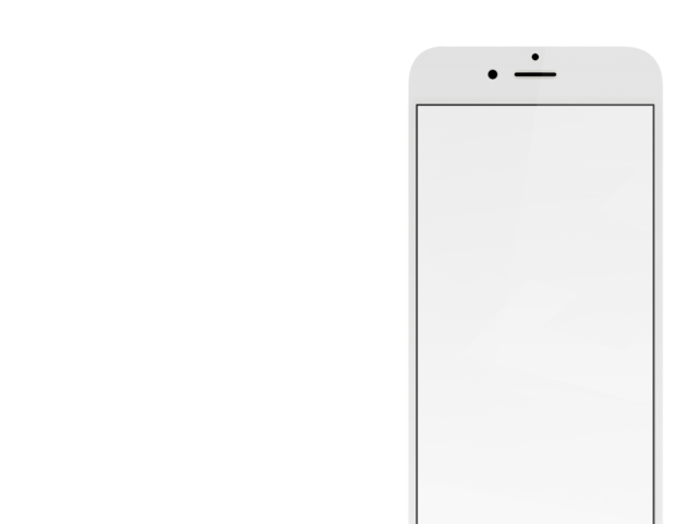 Gold iPhone 6 Mockup With Different Background Options.