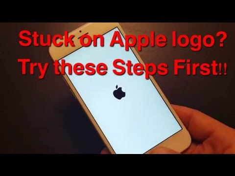 STUCK ON APPLE LOGO? IPHONES, IPADS, IPODS.