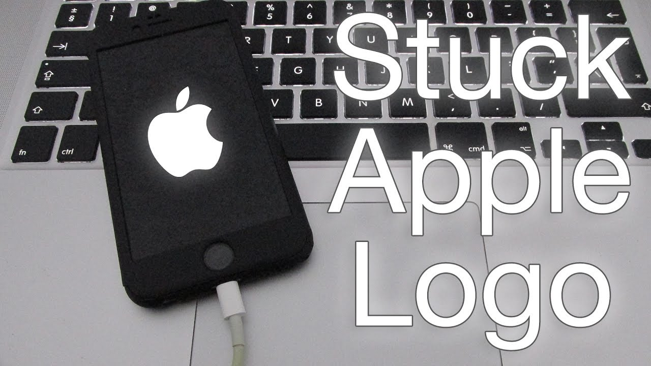 Fix iPhone Stuck on Apple Logo.