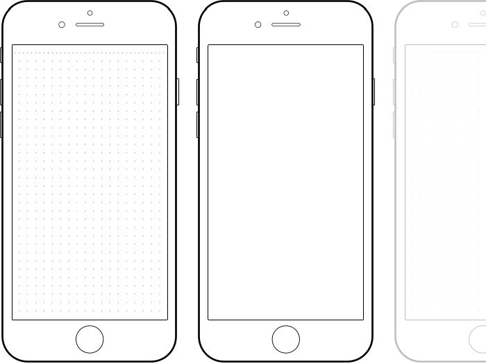 Iphone Template Clipart.