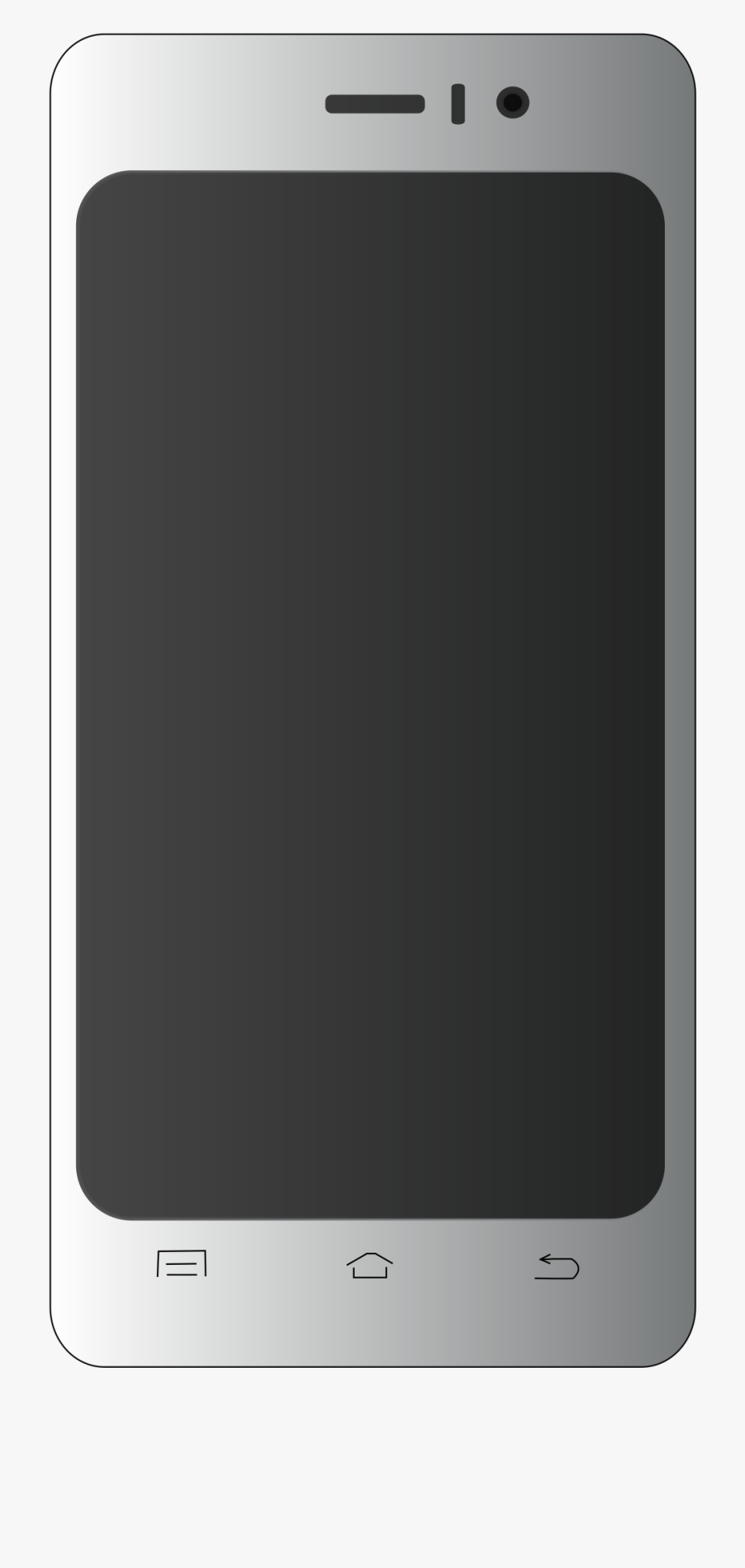 Iphone 7 Clipart Smart Phone.